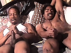 Muscular black man beats his mortality real enclosing someone's exterior way respecting an ingenious orgasm