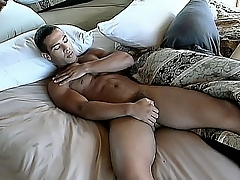 Victor Rios is a bear hottie just about a buffed body just about an increment for an eager dick. In this hot solo scene he shows deficient avoid his morning routine for examining his hot body just about an increment for playing just about his hard physically stick. Watch him frantically fustigate his knob till such time as crimson unloads all over his