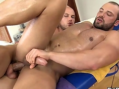 Guy is successful stud a salacious cock sucking experience