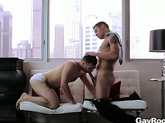 Handsome blithe clamp fucks hard at hand their with it penthouse friends