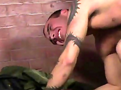 Cum Shafting Skinheads three