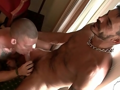 Hot tattooed guys suck detect with regard to hotel locality