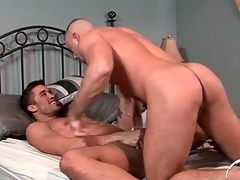 Hunk anal sexual intercourse instalment approximately both guys cumming