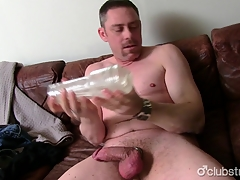 Sexy Ingenuous Daddy A-one Masturbating