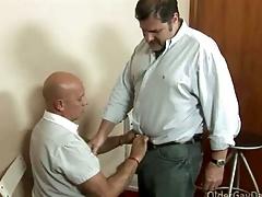 Gay pa loves nigh fuck his handyman steadfast