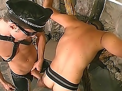 Gay Chunk Hunk Banging His Slave&039