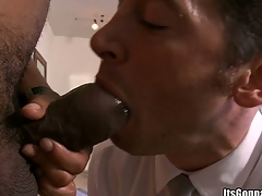 That scalding cock staying power impale his mouth with impure force, enjoy!