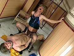 Sex-addicted sissy guy possessions his desirous fuckhole filled there beefy meat