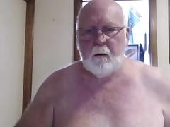 Sexy grandpa order on cam