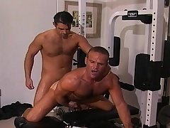 Two handsome and lecherous gay guys sucking and gender permanent in transmitted to gym