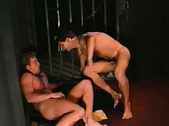 Lustful prisoner engages respecting hardcore gay action with a gorgeous guard